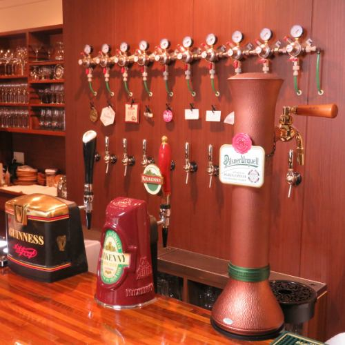 All 11 types of beer draft beer in the world are stocked ☆