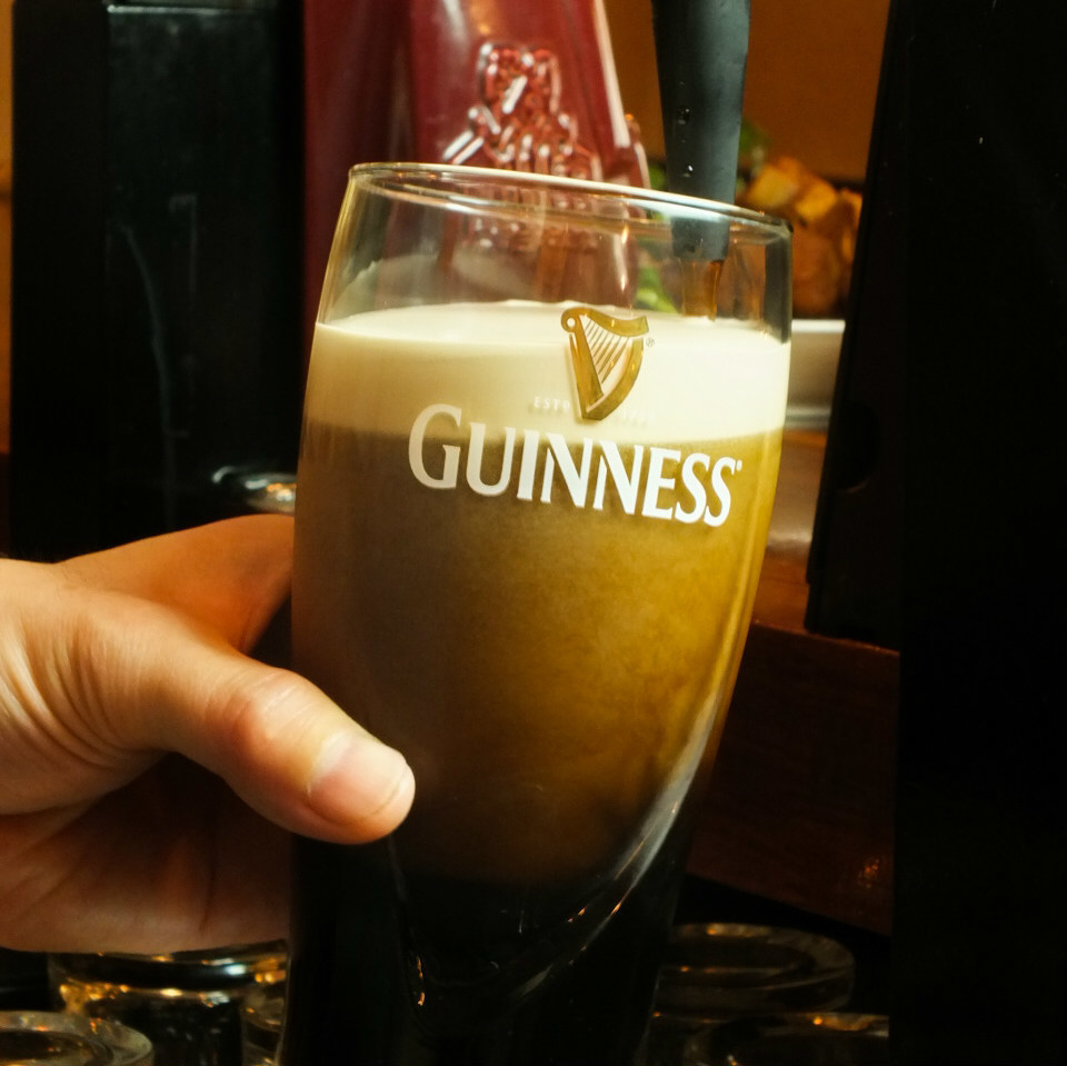 [Guinness] The royal road of black beer! Deep taste that makes drinkers crazy