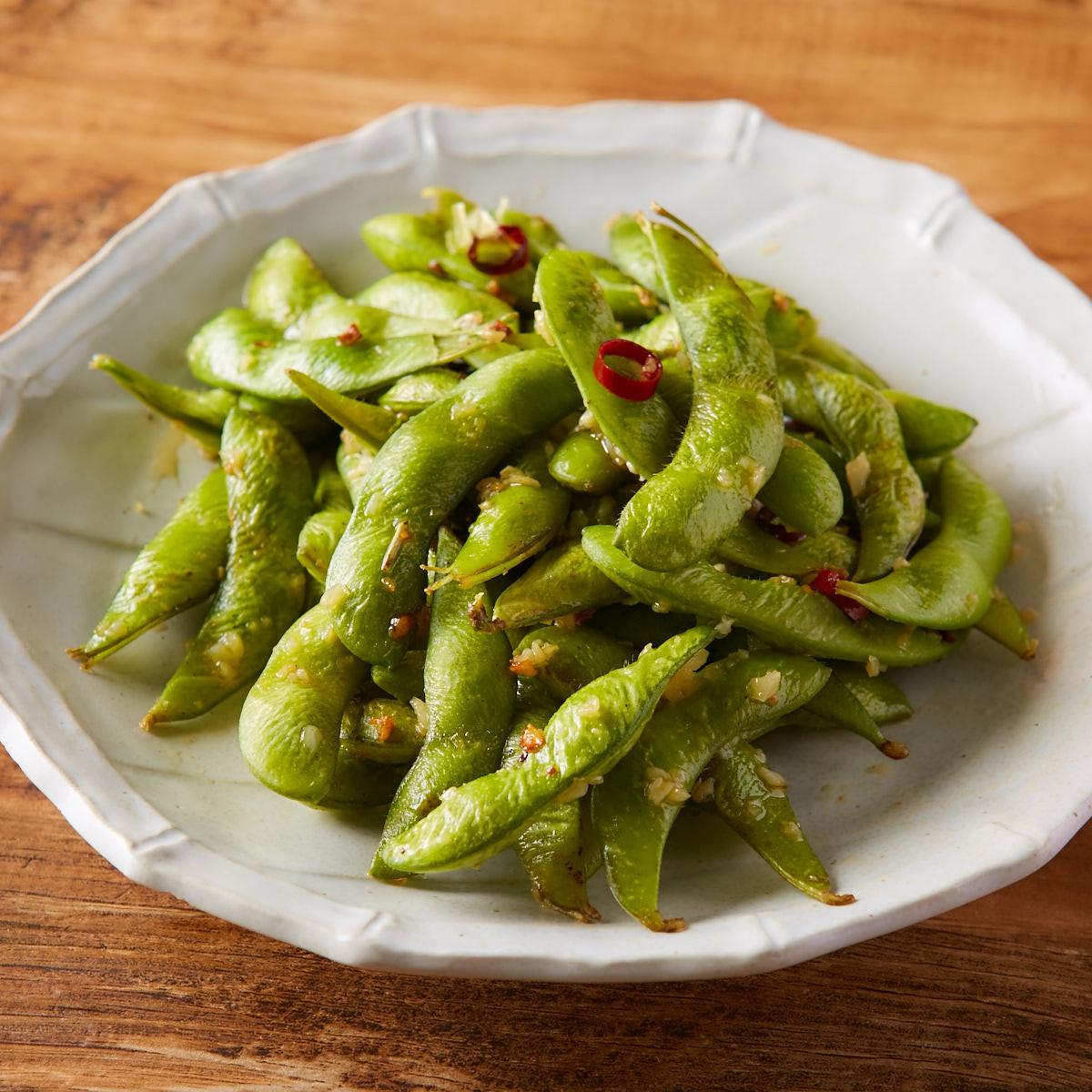 ぺペロン枝豆