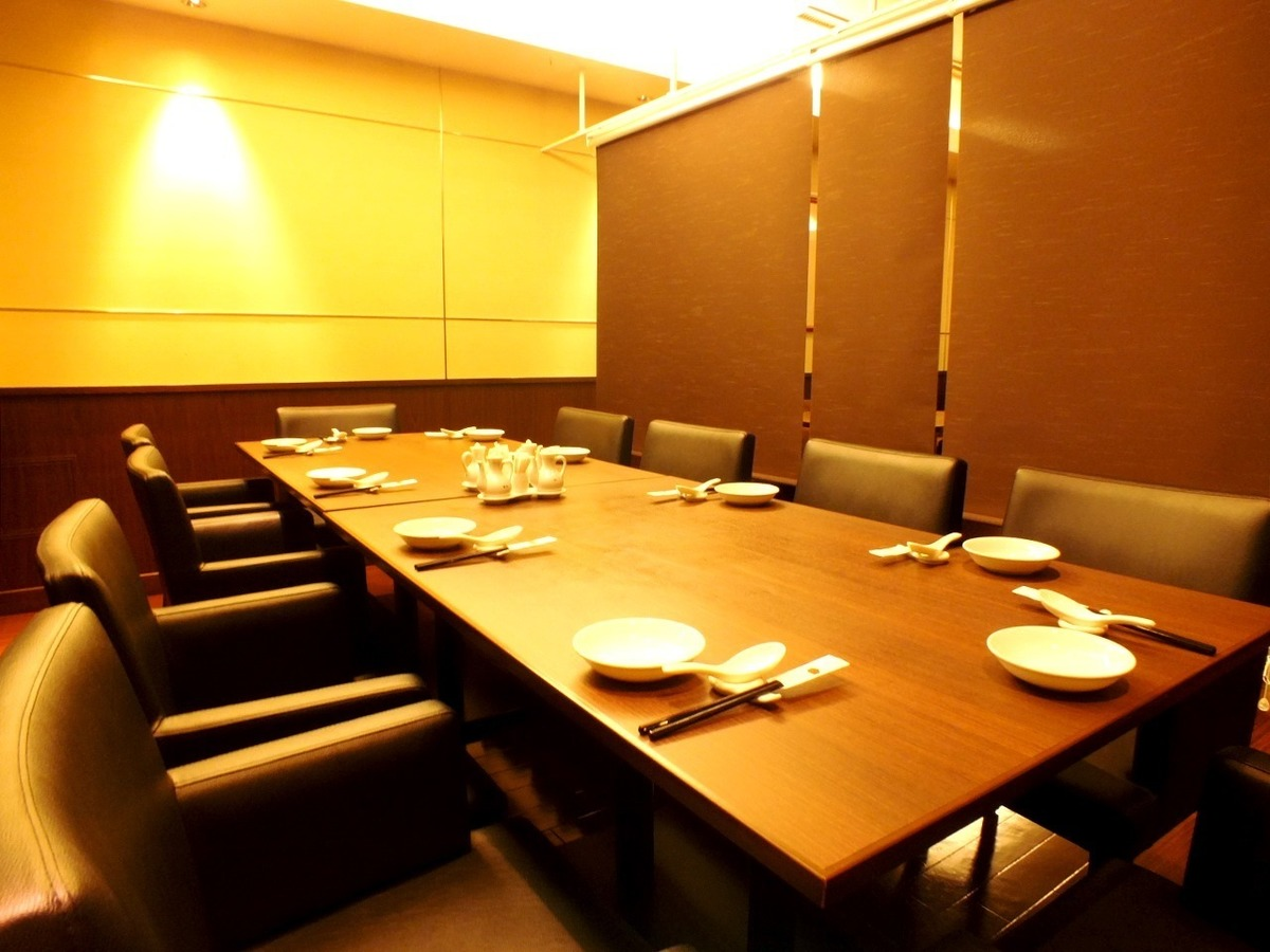 Half private rooms with dividers ◎ Up to 10 people OK!