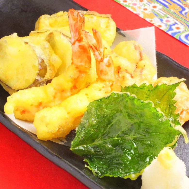Special tempura platter (1 servings)