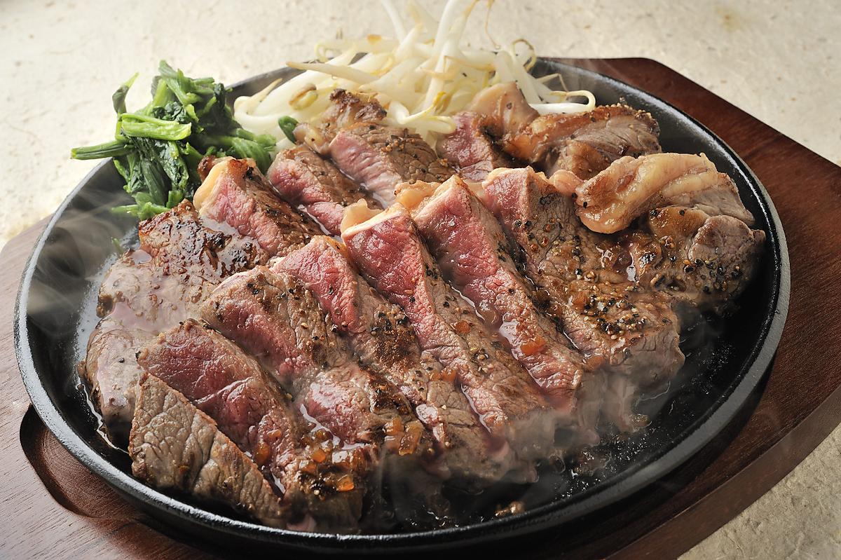 Beef sirloin pickle miso pickled steak