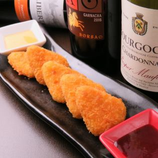 Camembert cheese fried