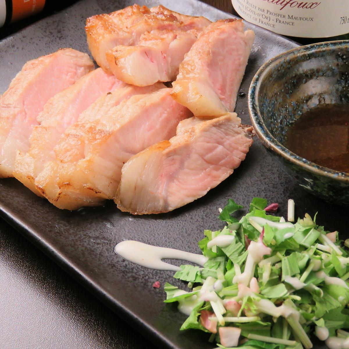 三河産もち豚のソテー 和風おろしソース