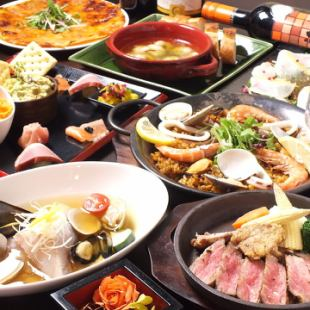 【Premium】 Luxurious 2 large free benefits ♪ All 14 items & 120 minutes Drinking attachment / Japanese beef truffle sauce etc. carefully selected ♪ 5000 yen