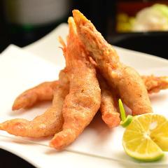 天使的虾馅饼