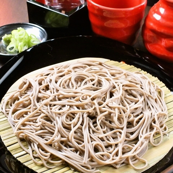 Roasted soba noodles