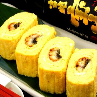Wrapping (with eel with eggs)