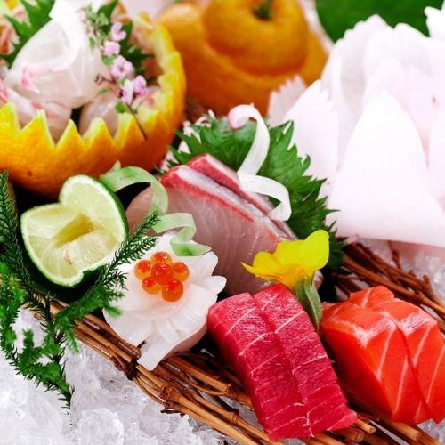 承諾季節鮮魚