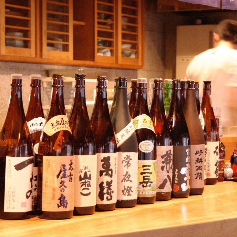 Local sake to match Oden · Japanese sake