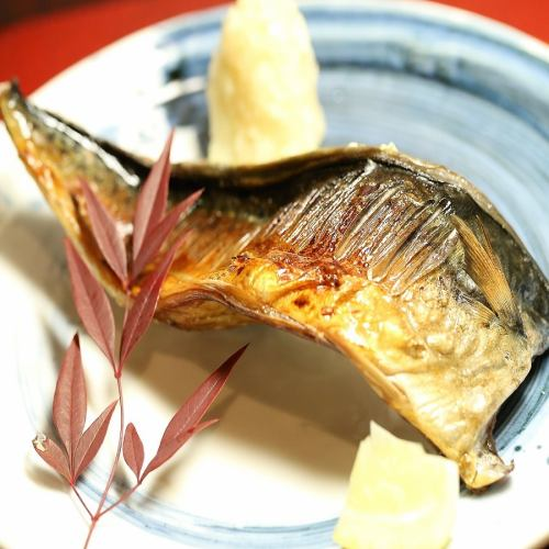 金華サバの半身焼き