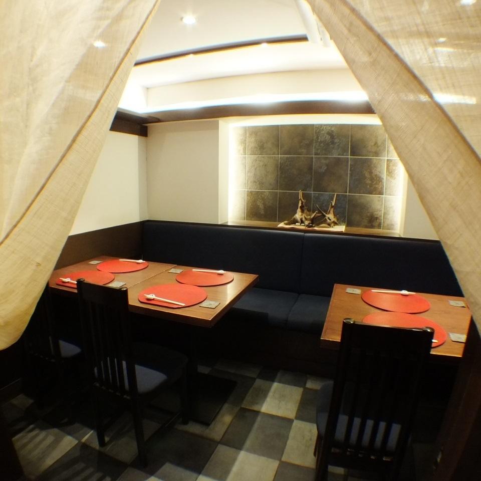 完全獨立的房間,您可以輕鬆地為8人度過(可以預訂5人。酒店還提供各種飲品。