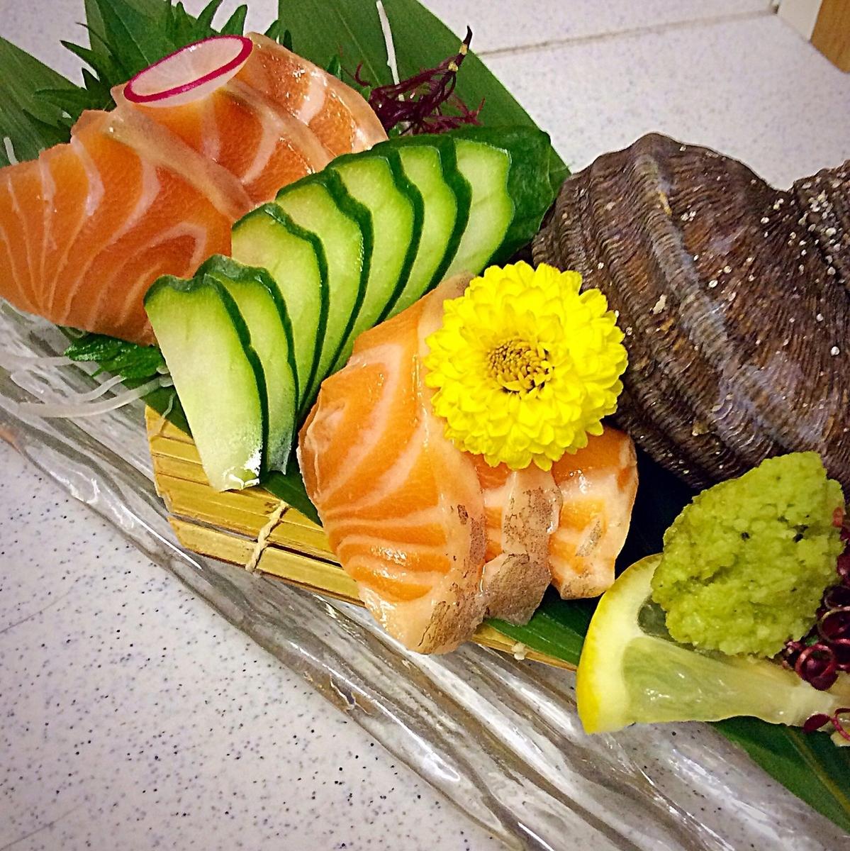 建造北海鲑鱼