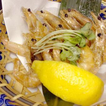 小蝦的油炸特點