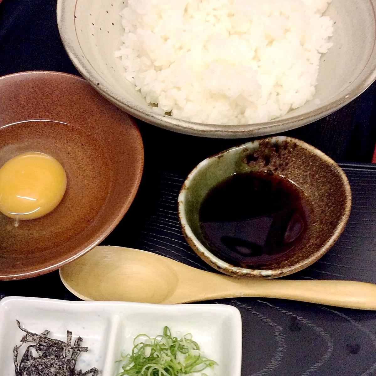 当地鸡蛋腌米饭