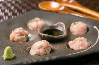 «Shiojin specialty» raw meatball