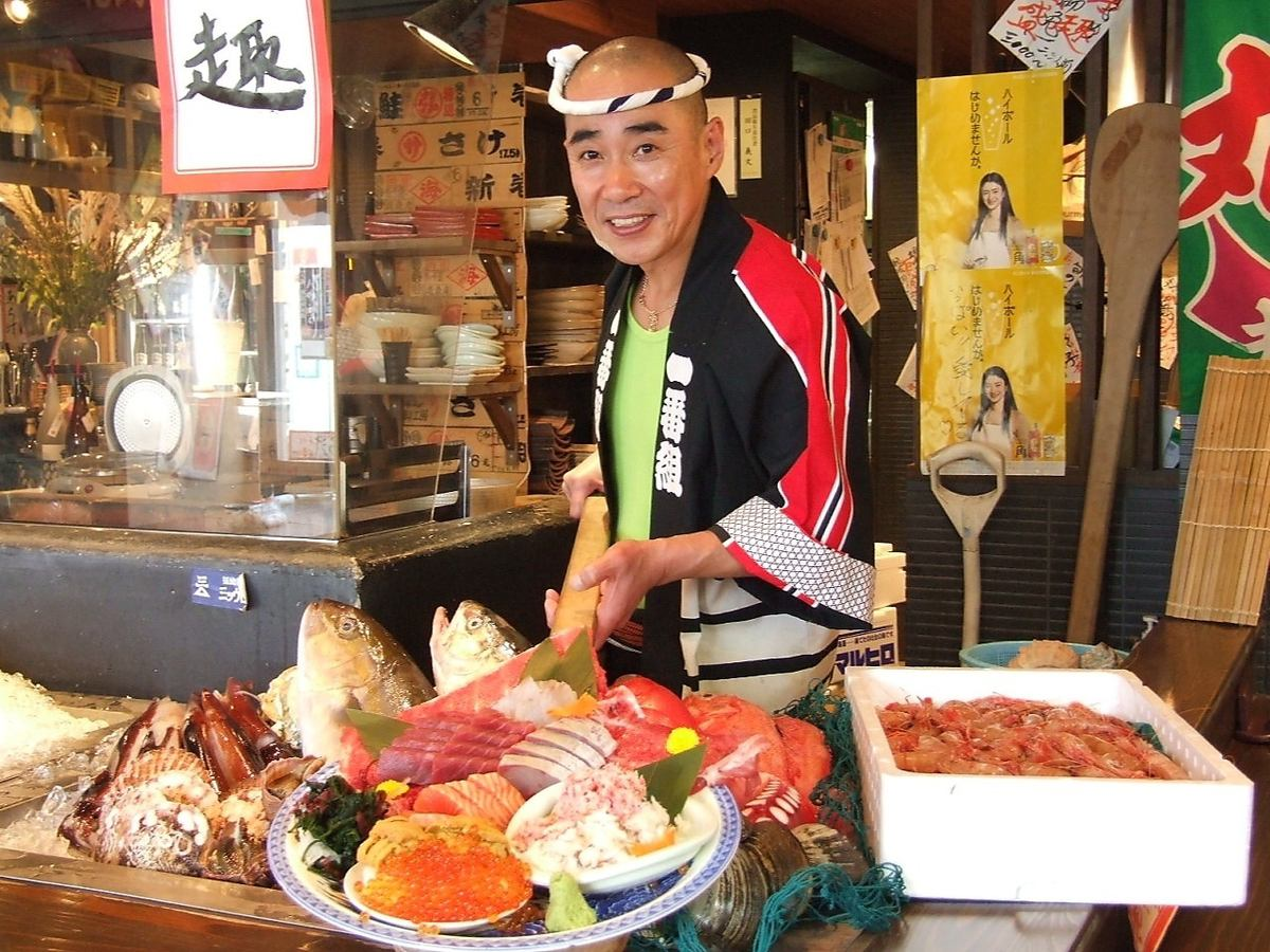 [Drinking attachment] New courses with plenty of delicious luxurious sashimi Assorted courses 7000 yen → 6000 yen ◎