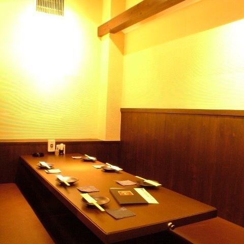 [On entertainment and anniversary] Semi-private rooms of table seats for 6 guests are also available.We are aiming to create a space where you can enjoy your meal slowly in a quiet atmosphere.