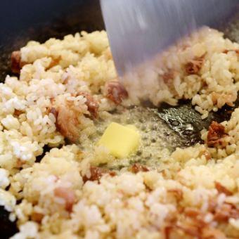 Kuroge Wagyu beef garlic rice