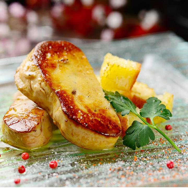 Foie gras sautee ~ truffle sauce ~