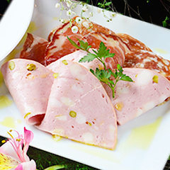 Assorted salami platter