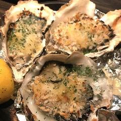 Oyster's garlic butter