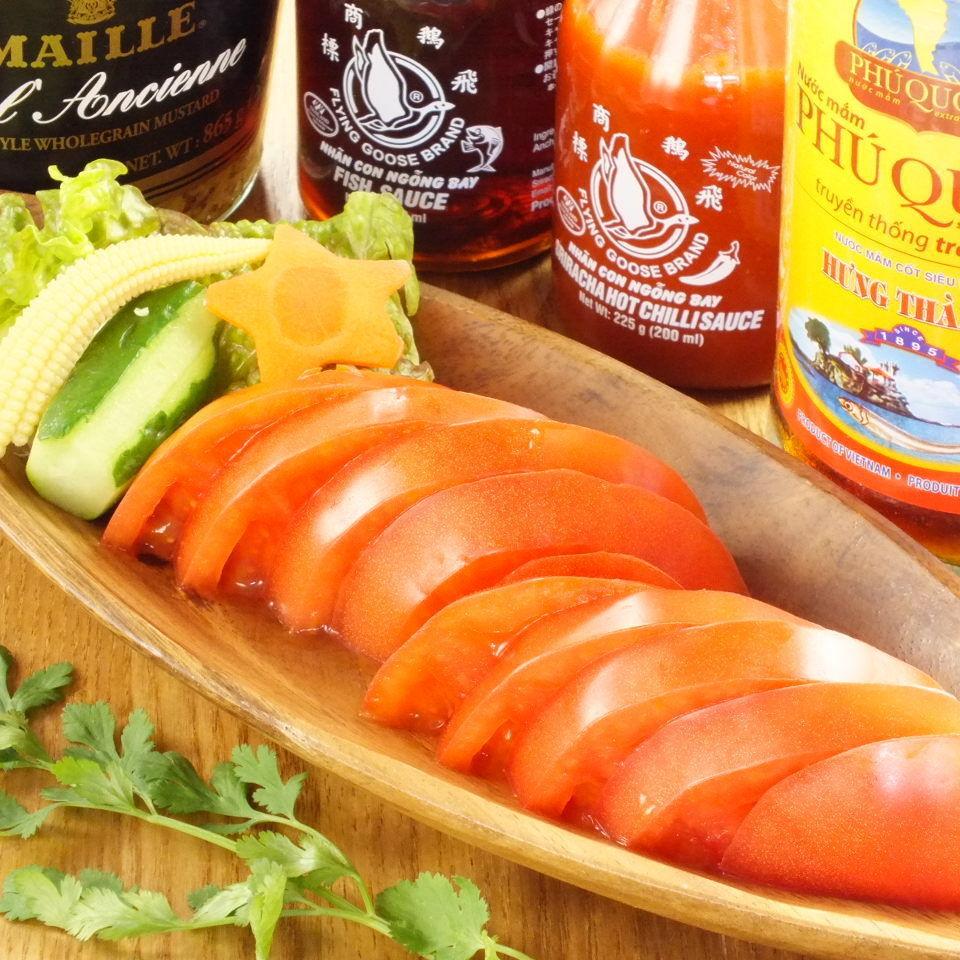 高槻トマトサラダ