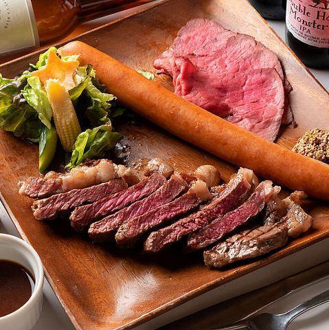 【クラフトビール×肉】おすすめ肉盛りスペシャル★1980円(税抜)
