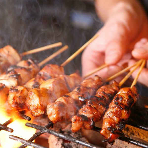 絶品!串焼きとオリジナル料理