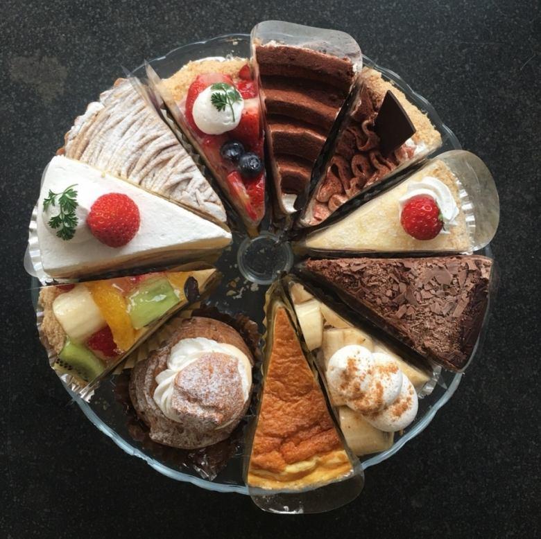 パティシエが作る自家製のケーキ