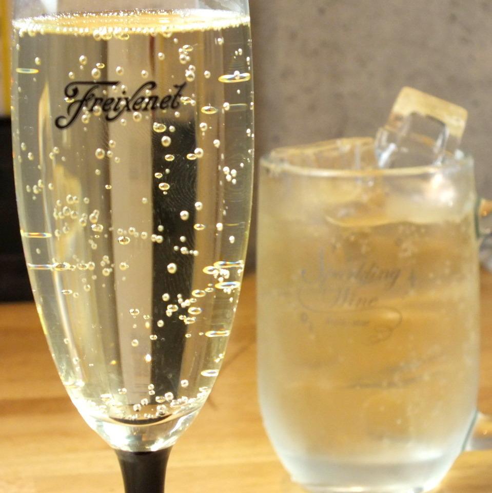 樽詰めスパークリング グラス/ジョッキ