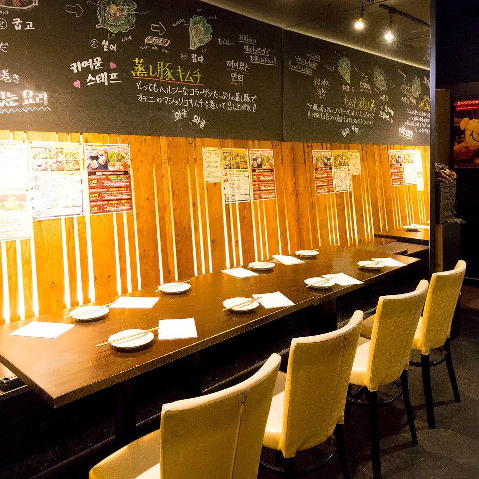 Leave it to 【flame】 if you can eat samgyeopsal and all you drink!