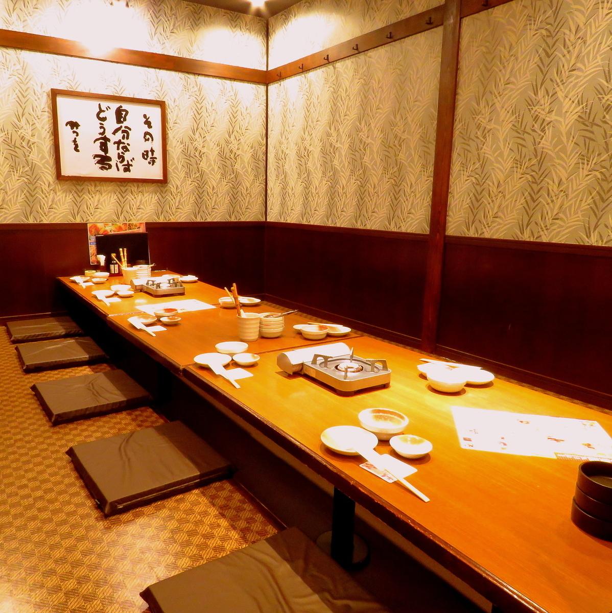 Okashiki宴会最多可容纳36人