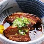 豚の角煮の炭火炙り