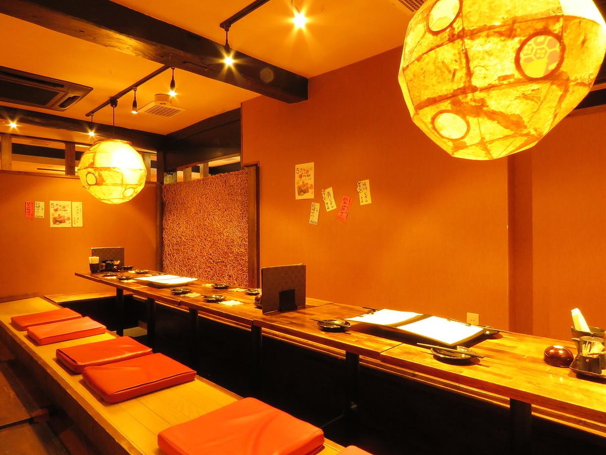Hori Kotatsu的宴會座位