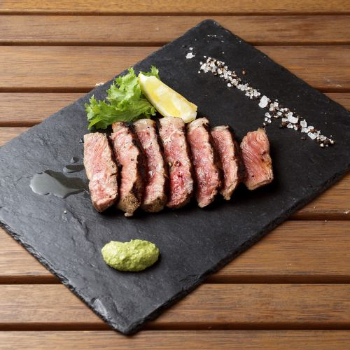 Beef sirloin steak from Awaji, Hyogo