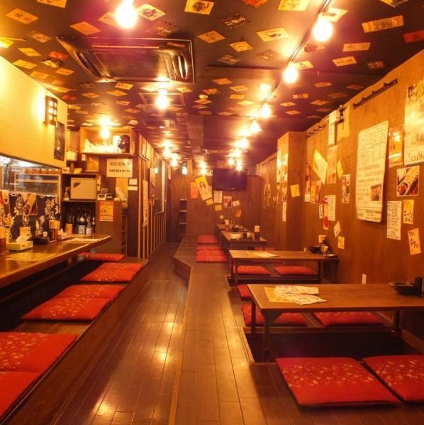 Up to 30 people ☆ 40 people possible ☆ 10 people a good friend in 16 people sheet-like or private room parlor with a good friend.Recommended slowly you can drink in ♪ I Urawa yakitori taverns enjoy piled together! Digging your stand-parlor-private room is also available.