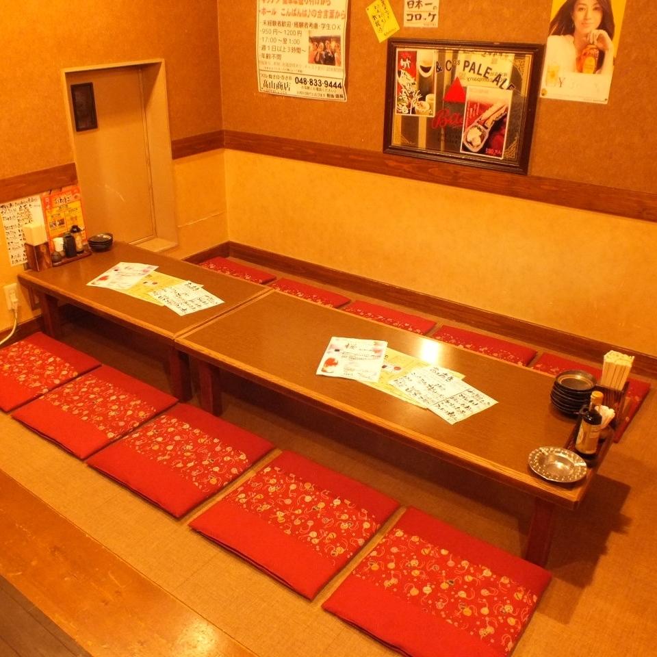 小团体宴会可以参加浦和的Yakitori Izakaya全友畅饮全友畅饮套餐!