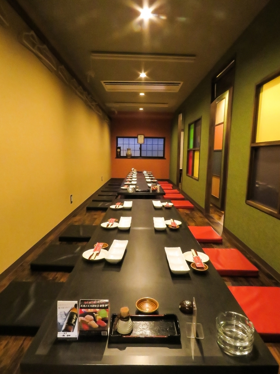 Maximum 30 guests in private rooms! ◎ for various banquets etc.