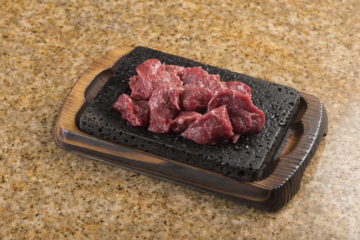 Mix cut steak