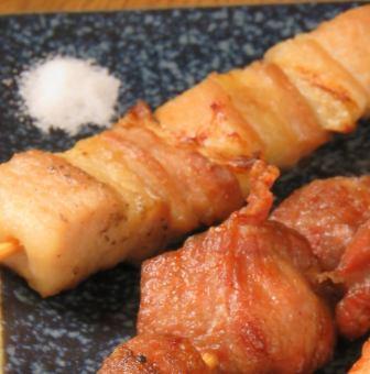 豚バラ/カシラ/豚トロ串