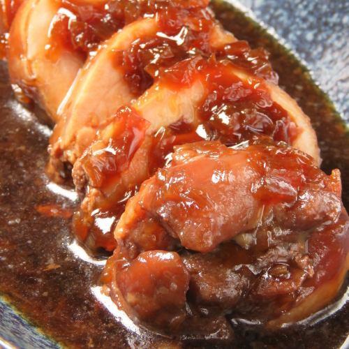 鶏ももの赤ワイン煮込み(一切れ売りあり)