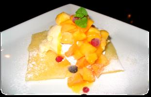 Caramel Crepe / Mango Crepe