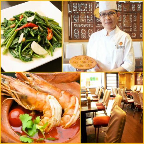 ≪料理歴30年≫大使館で修業を積んだ凄腕タイ人シェフが手掛ける絶品南タイの家庭料理