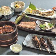 Eel luxury course 8,000 yen (tax excluded)