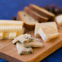 Assortment of carefully selected cheese