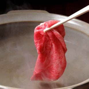 "【90 minutes with all you can drink】 Various banquets ... ""Recommended shabu-shabu"" course 6500 yen (tax excluded)"
