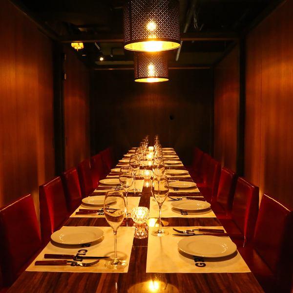 【宴会最大100名迄!】団体様でのご宴会、パーティーにお得な特典をご用意!8名様以上のコースご予約で幹事様1名無料サービス♪その他にもお得特典を多数ご用意しております。