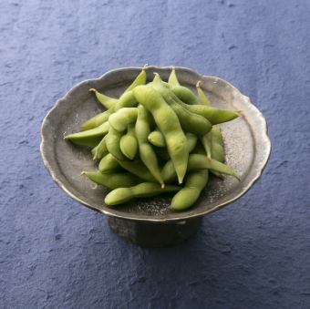 枝豆 ~イタリア海塩にて~