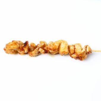 鶏皮串(タレ・塩)